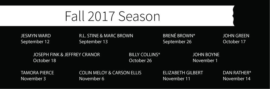 Fall Salon Lineup