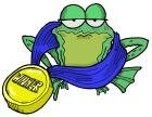 Jumping Frog illustration