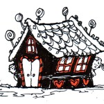 Hansel and Gretel house drawing